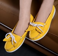 CS08 free shipping, 2013, new fashion woman bowtie comfortable flat shoes, top quality