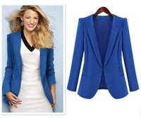 Europe high-end WOMAN SUIT BLAZER long STYLE JACKET women clothes suit Coat