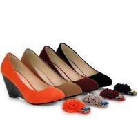 ENMAYER big size 34-43 women pumps  4 colors fashion high-heeled casual dating diamond sweet flower heels shoes