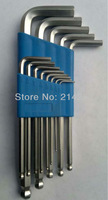 free shipping wholesale sets 13 pcs The metric system of ball head hex key screwdriver G4