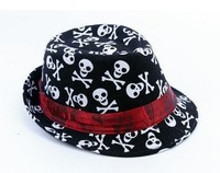 2013 New Korean Children Canvas Top Hat Free Shipping