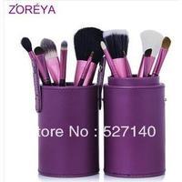 Zoreya 7 brush set, cosmetic brush set
