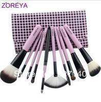 Zoreya 10 professional cosmetic brush make-up cosmetic tools brush set fashion