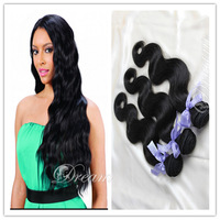 grade5a 100% peruvian virgin hair 3pcs lot mixed body wave,queen hair products,unprocessed natural hair,GlaFree Shipping