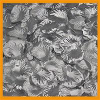 Free Shipping 1000pcs/lot wedding Table Decorations silk rose petals Silver color