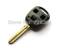 New Replacement Fob No Chip Uncut Remote Key Shell Case Fit For Toyota Land Cruiser FJ Cruiser Camry 4RUNNER 3 Buttons
