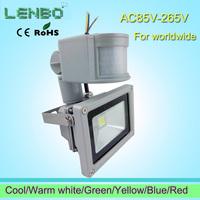 Big discount !  240V 10W/20W/30W/50W PIR LED Flood light White Warm Floodlight Motion Sensor A85V-265V LW42