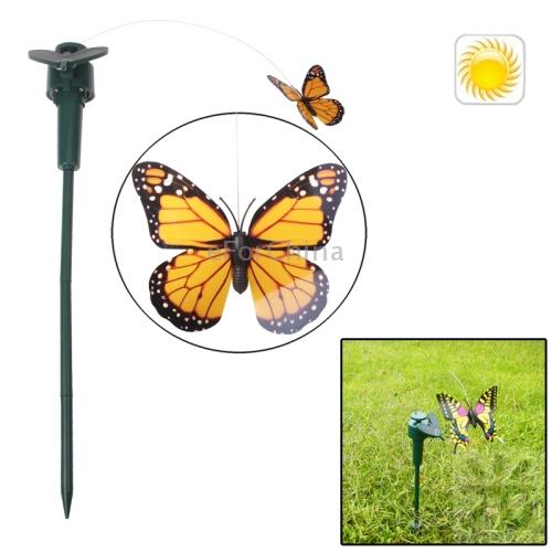 Fashion Lifelike Decorative Courtyard Garden Solar Flying Butterfly Toy()