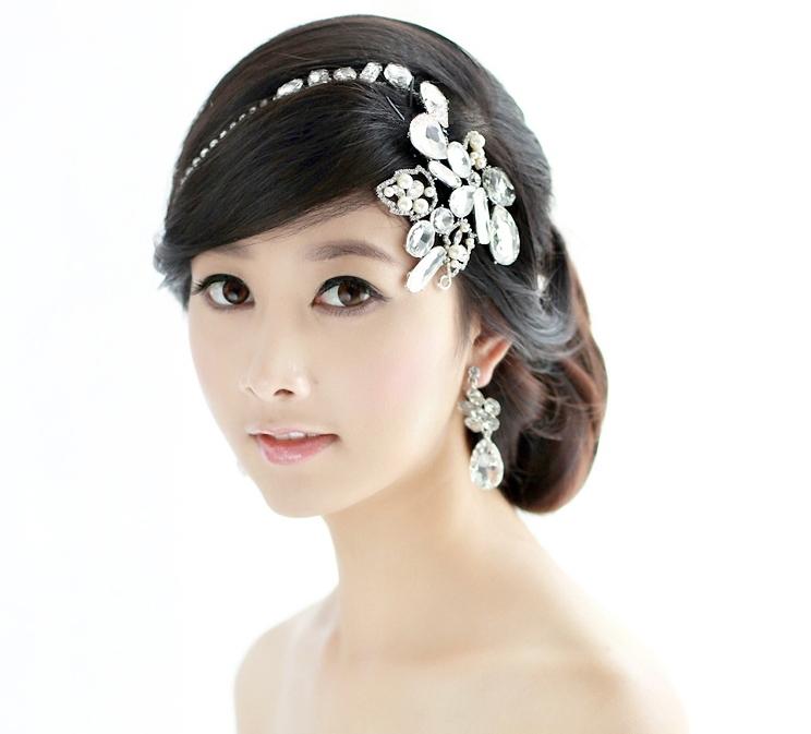 Bridal-Tiara-Rhinestone-Head-Chain-Wedding-Headbands-Hair-Accessories ...