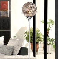 Free shipping K9 crystal floor lamp modern minimalist living room bedroom bedside study lighting lamps FRFL/0004 Mahjong