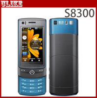S8300 Original Slider Cell Phone With 8MP Camera,FM,MP3,Video,Bluetooth,GPS,SG Post Free shipping