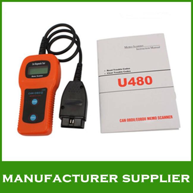 HOT promotion! 2013 U480 OBD2 CAN BUS & Engine Code Reader U480 Code