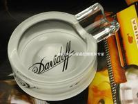 TOMATO glass Cigar ashtray Crystal gift new COHIBA
