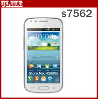 Original  Galaxy S Duos S7562 mobile phone Android Smart phones wifi GPS dual sim White/black In Stock