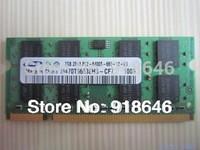 Free shipping Original Korea SAMSUNG 512MB/1GB/2GB/4GB/8GB 2RX8/1Rx8 PC2-6400s DDR2 800MHz Laptop  Memory RAM/Available