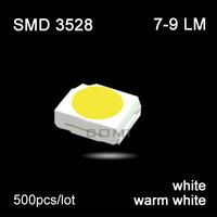 Free shipping high power led smd 3528 chip 7-9lm 0.06w led lamp light emitting diode for led light string par light lamps#