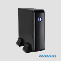 2013 free shipping WIFI Mini computer QOTOM-I35CT mini pc with Qotom-I35CT with hdmi/RJ45/DVI/1080P video playback mini pc