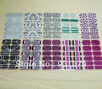 New 12PCS Noctilucent Nail Art Sticker Patch Foils Wraps Decoration Decals For Fingers Toes