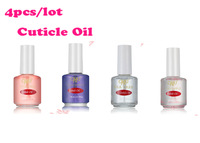 Wholesale 4PCS /Lot  14ml Cuticle Revitalizer Oil Nail Art Treatment free shipping