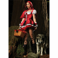 Riding Hood Divine Miss Red Costume LK-HM-01