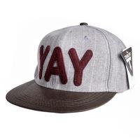 2013 new tide cap hip-hop cap baseball cap flat brimmed hat hip hop cap DG0601 YAY letters