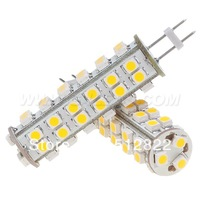 Free Ship !!! Dimmable GY6.35 LED G6.35 12V 51leds SMD 3528 3W White Warm White 380-405LM