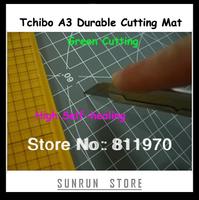 Green Cutting Tchibo A3 45*30*0.3cm Cutting Mat PVC 3-layer Durable Cutting Pad High Self-healing Double-sided Cutting Mat