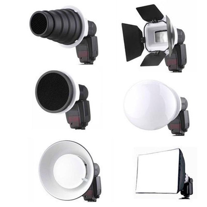 Flash Gun Accessories Kit 7 in1 For Vivitar 285HV CA 5 DSLR Camera ...