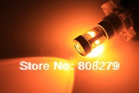 2pcs 30W PY24W 5200s 5200 PY24WY High Power LED Front Turn Signal Light Bulb White Amber/Yellow 12v