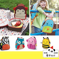 new 2014 cute animal  backpack child canvas school bags kids backpack