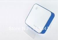 FLK-NZ013 7200mAh Cover Type Design Power Bank(With 3 Adapter) - White