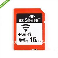 NEW ez Share WiFi SDHC 16GB Class 10 Flash Memory Card SD Wireless  wifi sd cardFree shipping