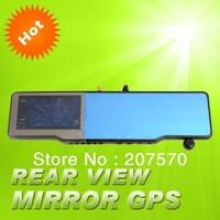 New Rear View Mirror Device +GPS+wireless parking camera+Parking Sensor+Radar detector