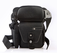 2014 High Quality Man Multi-Functional Pockets Legs Tactics Dual Function, Waist Bag BB001
