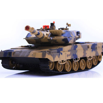 516 - 10 Large Infrared Remote Control Battle Tanks model Free shipping