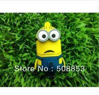 Wholesales New Cartoon Despicable Me Minions Dave Model usb 2.0 memory flash stick pen thumbdrive