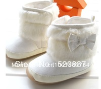 IN STOCK!2013 New arrival children's bow boots soft warm boots snow boots free shipping