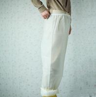 Free shipping white translucent breathable protection rain pants male women's fashion raincoat rain pant