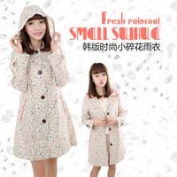 Free shipping fashion fresh  breathable waterproof raincoat poncho girl raincoats
