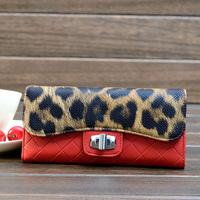 women purse,designer wallet bags women leopard lady handbags,clutch wallets,travel pu passport bag,7 colors,988