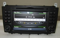 C-Class W203 CLK CAR DVD with A8 chip Built-in GPS, bluetooth, RDS, IPOD,PIP,V-CDC,DUAL ZONE,support 3G,free map