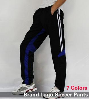 Free Shipping 2015 New Soccer Training PantsBrand Soccer Trousers Pants Skinny Futebol Men Fitness Pant