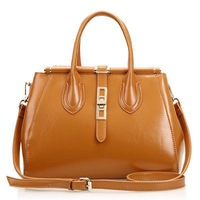 2014 fashionablegenuine leather tote bag, ladies handbags in latest fashion, new arrivals for fall