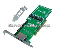 SinoV-TE430P 4 E1 asterisk card  for  2U class