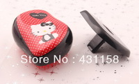 Wholesales Tangle Teezer hair comb Kate princess recommend hello kitty  hair brush 10 pcs/lot free shipping