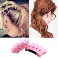 Free Shipping Hot Selling DIY fashion modelling sponge and distribute two-piece/Hair Tools/Hair Roller/Hair Curler