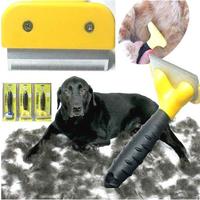 Free Shipping  New  Dog Removal Comb Brush for long and shirt hair  Pet  Grooming FUR DeShedding Tool  Rake of  Pet Supplies