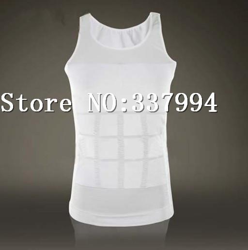 80 pcs/lot Free DHL & Fedex Shipping Men's Slim N Lift Body Shaping As Seen On TV Warm Vest Undergarment Elimination (opp bag)(China (Mainland))