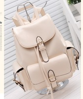 Free shiipping Vintage 2013 preppy style candy color backpack small backpack multifunctional women's casual handbag