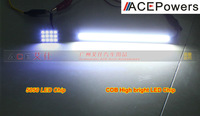 New arrival COB Daytime Running Lamp DRL For All Car As License Plate Light, Brake Bulb Super Bright Free Shipping